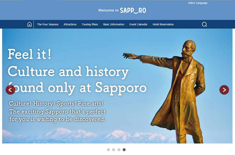 Welcome SAPPORO
